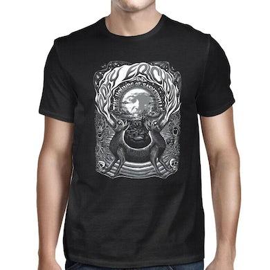 Roky Erickson 2 Headed Dog Black T-Shirt