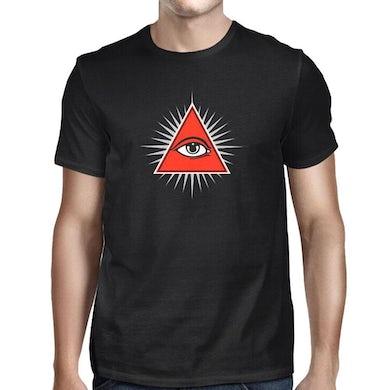 Roky Erickson Pyramid Black T-Shirt