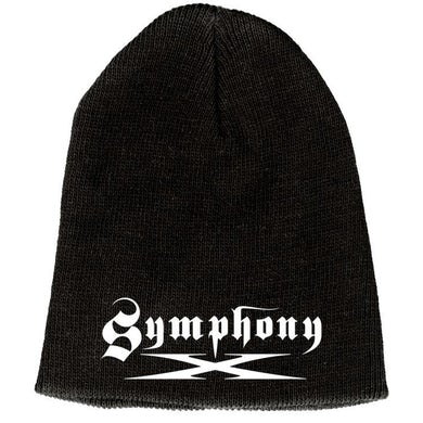 Symphony X Embroidered Logo Beanie