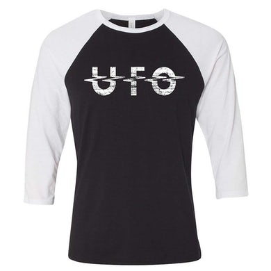 UFO Destressed Logo Raglan