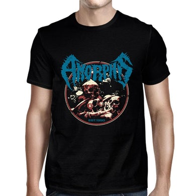 Amorphis Retro Established Black T-Shirt