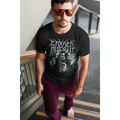 Carach Angren Mask 2017 Tour T-Shirt