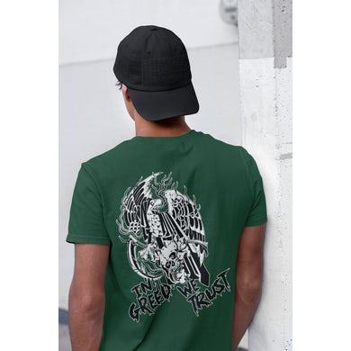 Iron Reagan Eagle - In Greed We Trust T-Shirt