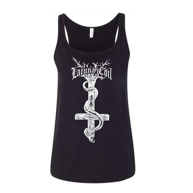 LACUNA COIL Snake Ladies Tank Top