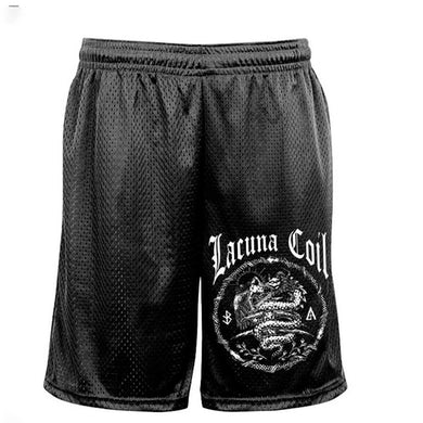 LACUNA COIL Logo Mesh Shorts