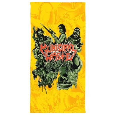 Sublimated Beach Towel