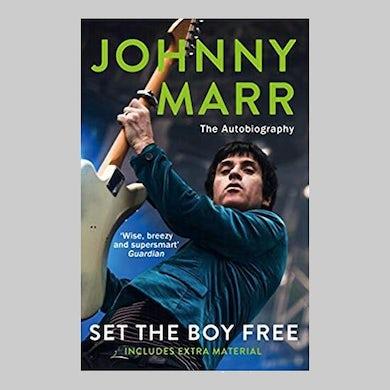 Johnny Marr SET THE BOY FREE BOOK