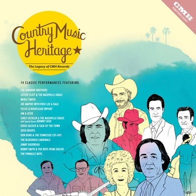 Country Music Heritage: The Legacy of CMH Records - LP (Vinyl)