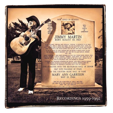 Jimmy Martin: Songs of a Free Born Man