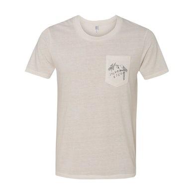 Sylvan Esso - White Parrot Pocket T-Shirt