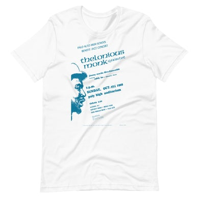 Thelonious Monk Event Poster Art T-Shirt
