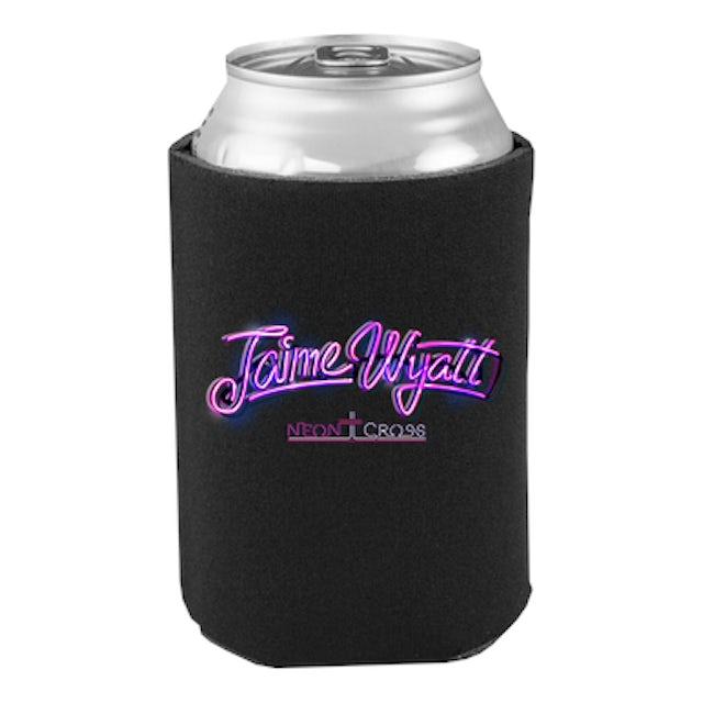 Jaime Wyatt Neon Cross Koozie