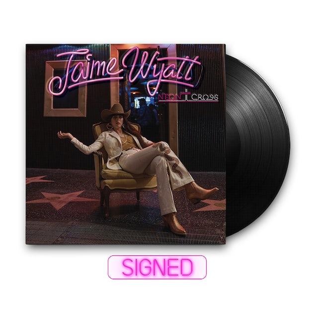 Jaime Wyatt Neon Cross Signed LP (Vinyl)