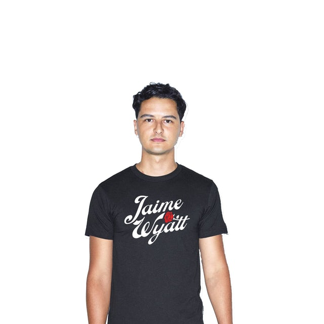 Jaime Wyatt Rose T-Shirt - Black