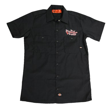 Big Bad Voodoo Daddy  Embroidered Work Shirt