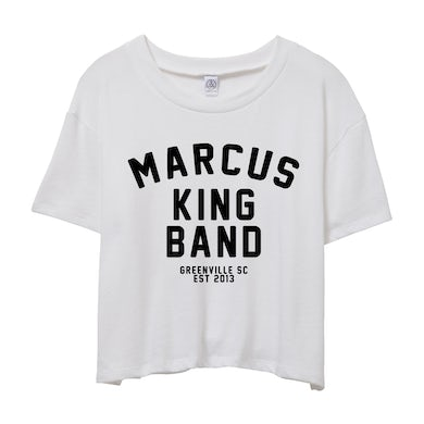 MARCUS KING BAND Women's Established Cropped Tee