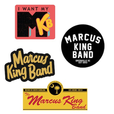 MARCUS KING BAND MKB Individual Stickers