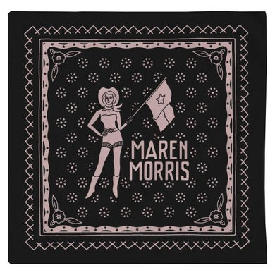 Maren Morris RODEO BANDANA - BLACK
