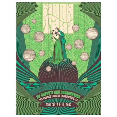Moon Taxi Baton Rouge, LA Poster - 3/16-17/2017