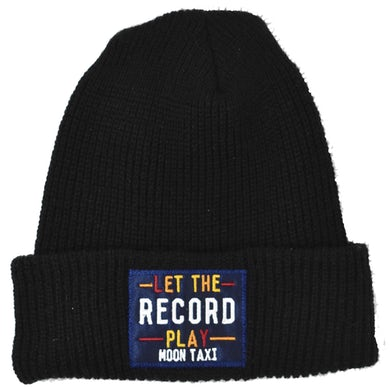 Moon Taxi Let the Record Play - Beanie