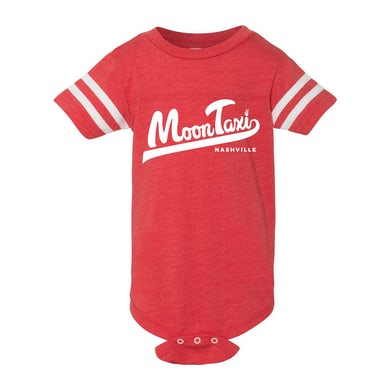Moon Taxi Onesie - Red