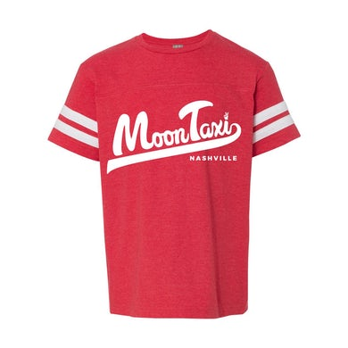 Moon Taxi Youth T-Shirt - Red