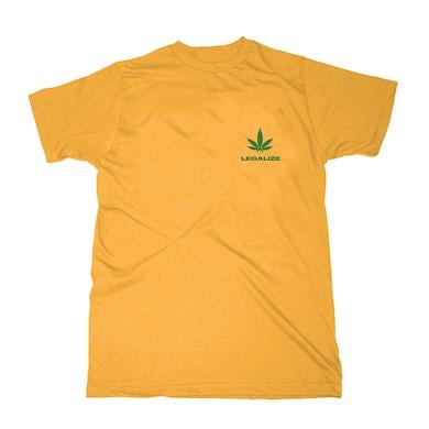 Buju Banton Ganja Man Yellow T-Shirt