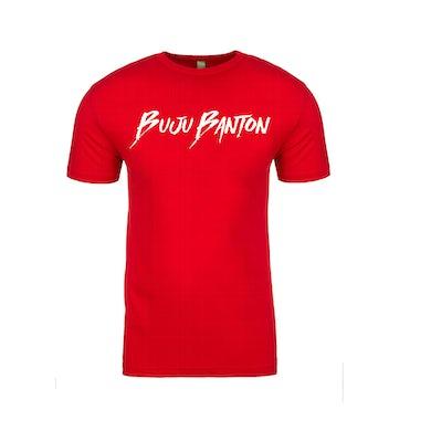 Buju Banton Red Signature Tee Shirt