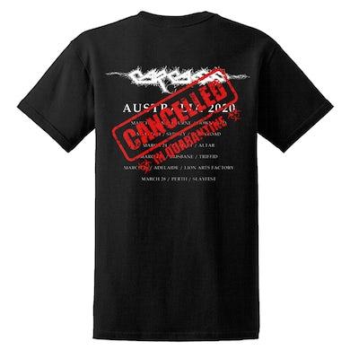 CARCASS - 'Cancelled Skull Tour' T-Shirt
