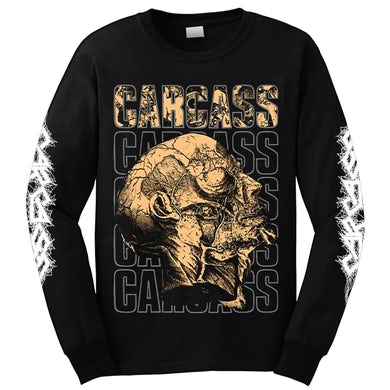 CARCASS - 'Anatomical Head' Long Sleeve