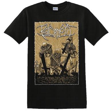 PSYCROPTIC - 'You Belong Here Below' T-Shirt