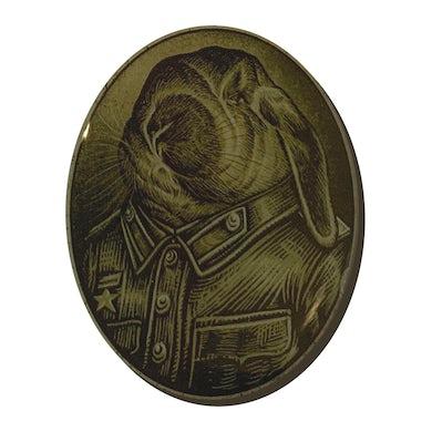 COMRADE BUNNYMAN - 'Portrait' Metal Pin