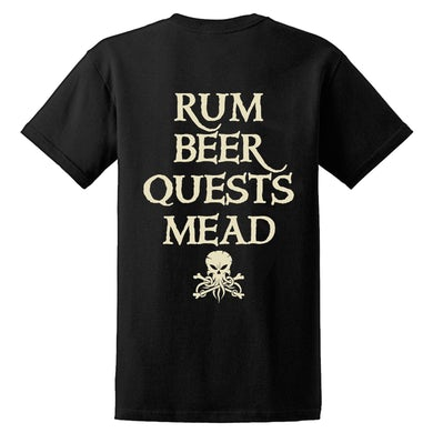 ALESTORM - 'Rum Beer Quests Mead' T-Shirt