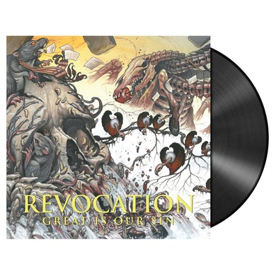 REVOCATION - 'Great Is Our Sin' LP (Vinyl)