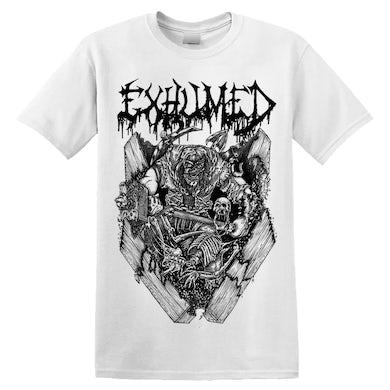 EXHUMED - 'Casket Crusher' T-Shirt