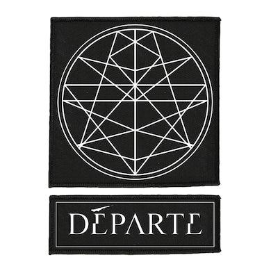 DÉPARTE - 'Logo/Emblem' Patch (2 Pack)