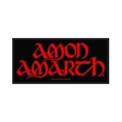 AMON AMARTH - 'Red Logo' Patch