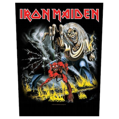 IRON MAIDEN - 'The Number Of The Beast' Back Patch