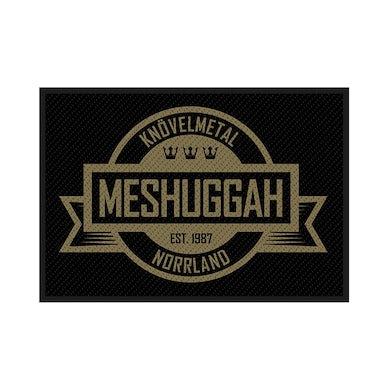 MESHUGGAH - 'Crest' Patch