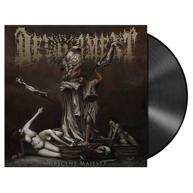 'Obscene Majesty' LP (Vinyl)