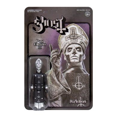 GHOST - 'Papa Emeritus III (Black Series)' ReAction Figure