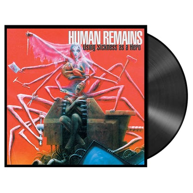 'Using Sickness As A Hero' LP (Vinyl)