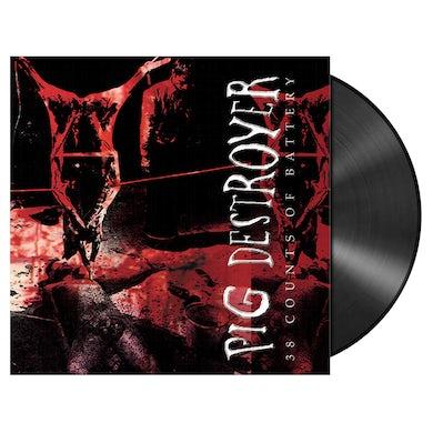 PIG DESTROYER - '38 Counts Of Battery' Black LP (Vinyl)