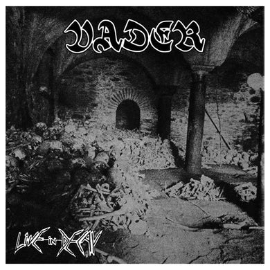 VADER - 'Live In Decay' CD