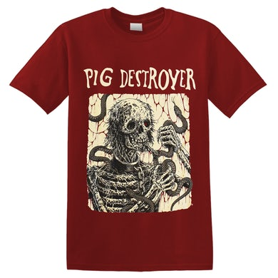 PIG DESTROYER - 'Snake Eater' T-Shirt