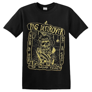PIG DESTROYER - 'The Torture Fields' T-Shirt