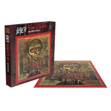 SLAYER - 'Seasons In The Abyss' Puzzle