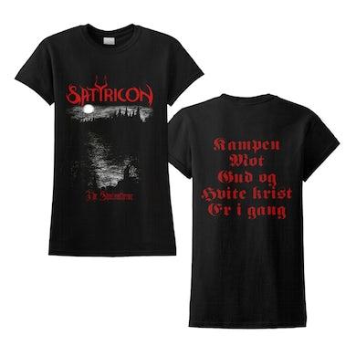 SATYRICON - 'Shadowthrone' Ladies T-Shirt