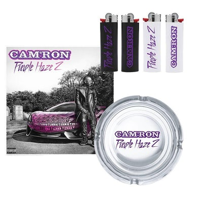 Cam'Ron Purple Haze 2 Ashtray and Lighters + Digital Album Download