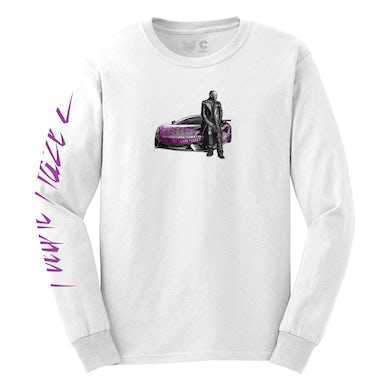Cam'Ron Purple Haze 2 Longsleeve Tee in White + Digital Album Download